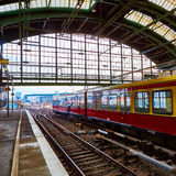 Berlin East railway station Stock Photo