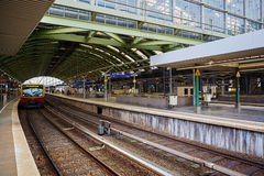 Berlin East railway station Stock Photography