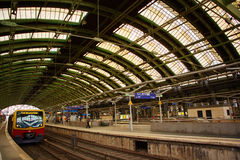 Berlin East railway station Stock Images