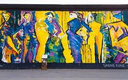 Berlin East Side Gallery artwork Royalty Free Stock Photos