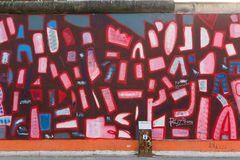 Berlin East Side Gallery artwork Royalty Free Stock Images