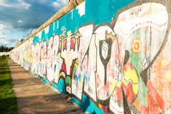 Berlin East Side Gallery Royalty Free Stock Photography