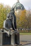 berlin Engels Friedrich Karl Marx obrazy stock