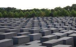 berlin förintelseminnesmärke Royaltyfria Bilder