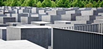 berlin förintelseminnesmärke Arkivbilder