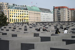 berlin förintelsemonument Arkivfoton