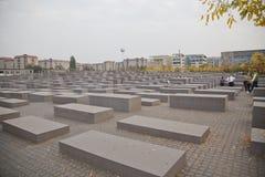 berlin förintelsemonument Arkivfoto