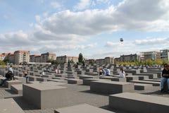 Berlin förintelsemonument Royaltyfri Foto