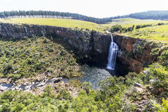 Berlin Falls landscape view in South Africa Royalty Free Stock Photo