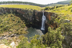 Berlin Falls landscape view in South Africa Stock Images