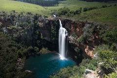 Berlin Falls, South Africa. View of Berlin Falls from above. Panorama Route South Africa Stock Photos