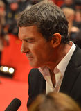 BERLIN - FEB 15: Antonio Banderas Festival Feb 15, Stock Photo