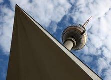 Berlin Fernsehapparat-Kontrollturm Lizenzfreie Stockbilder