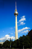 Berlin-Fernsehenkontrollturm Stockbild