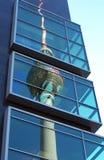 Berlin Fernsehkontrollturm Stockbilder