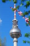 Berlin Fernsehkontrollturm Lizenzfreies Stockfoto