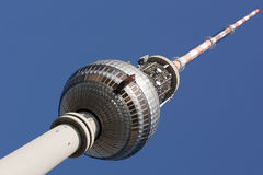 Berlin Fernsehturm Stock Photo