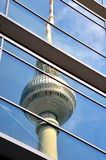 Berlin Fernsehturm Stockfotos