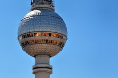 Berlin Fernsehturm Stockfotografie