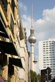 berlin fernsehturm Royaltyfria Bilder