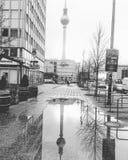 Berlin Fernsehturm Lizenzfreies Stockbild