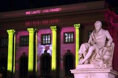 Berlin festival av lampor Royaltyfria Bilder
