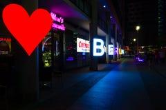 berlin Festival des lumières 2014 Photographie stock libre de droits
