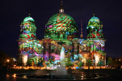 Berlin Festival of Lights Royalty Free Stock Photography