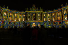 Berlin. Festival of Lights 2014 Royalty Free Stock Images