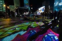Berlin. Festival of Lights 2014 Royalty Free Stock Image