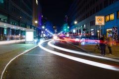 Berlin. Festival of Lights 2014 Stock Image
