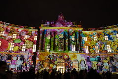 Berlin festival of lights Royalty Free Stock Image