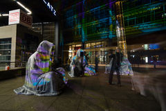 berlin Festival von Lichtern 2014 Stockfotos