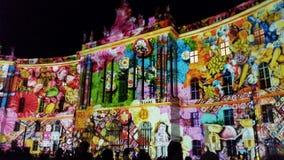 Berlin-Festival von Lichtern 2016 Lizenzfreie Stockfotografie