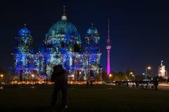 berlin festivalgermany lampor 2010 Arkivfoto