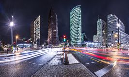 Berlin Financial District. The financial district of Berlin, Germany known as Potsdamer Platz Stock Images