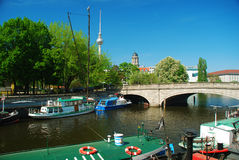 Berlin Fischerinsel, Germany Royalty Free Stock Image