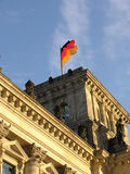 BERLIN FLAG Royalty Free Stock Photo