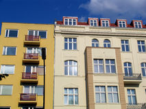 Berlin flats Royalty Free Stock Photo