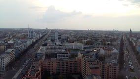 Berlin from 20 floor. Tank of sky Stock Photos