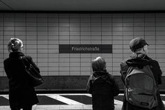 Berlin Friedrichstraße 02 - Berlin 07 2018 Image stock