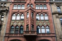 Berlin. Friedrichstrasse. Fasada stary handlarski dom Zdjęcie Stock