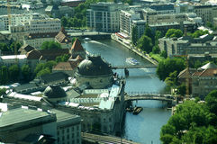 Berlin From The TV Tower Stock Image