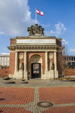 Berlin gate in the center of Wesel Royalty Free Stock Photo