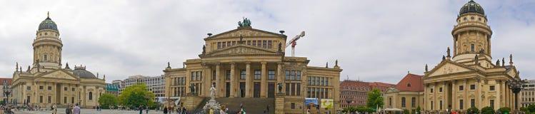 Berlin Gendarmenmarkt. Panoramic view of Gendarmenmarkt, Berlin, Germany royalty free stock image