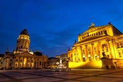 berlin gendarmenmarkt Arkivfoton