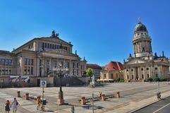 berlin gendarmenmarkt zdjęcia stock