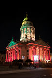 Berlin, Gendarmenmarkt illumination Stock Photo