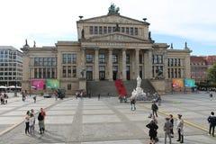 Berlin gendarmplatz Fotografering för Bildbyråer