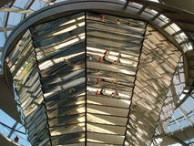 Berlin, German Bundestag and glass dome Royalty Free Stock Image